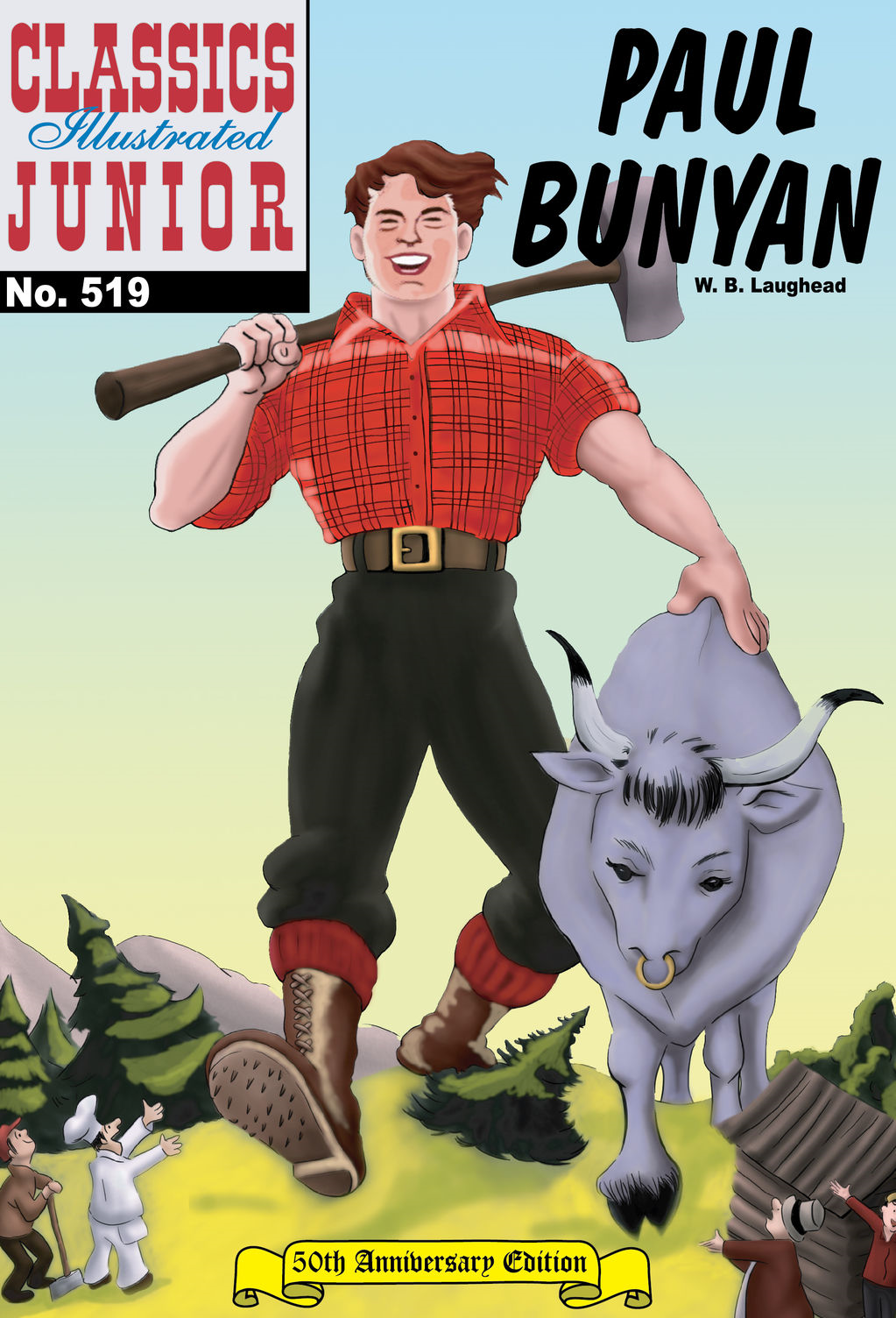 Paul Bunyan - Classics Illustrated Junior #519
