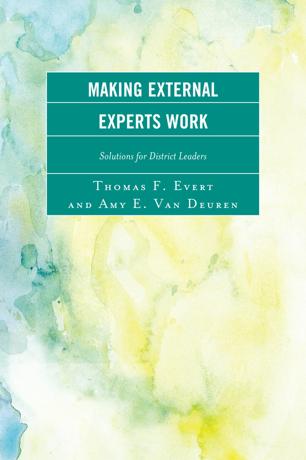 Making External Experts Work