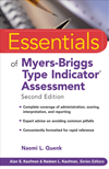 Essentials Of Myers-Briggs Type Indicator Assessment: