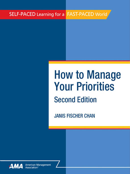 How to Manage Your Priorities: EBook Edition