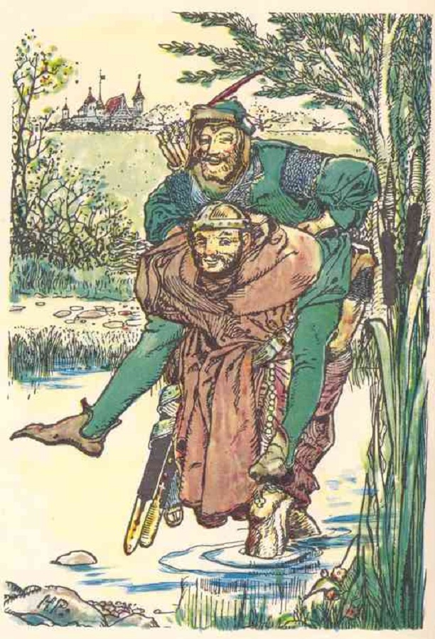 The Merry Adventures of Robin Hood, Illustrated