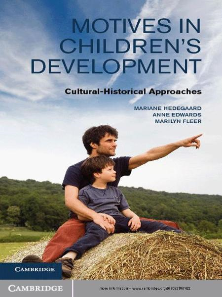 Motives in Children's Development Cultural-Historical Approaches