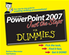 Powerpoint 2007 Just The Steps For Dummies: