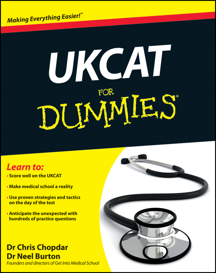 UKCAT For Dummies By: Chris Chopdar,Neel Burton