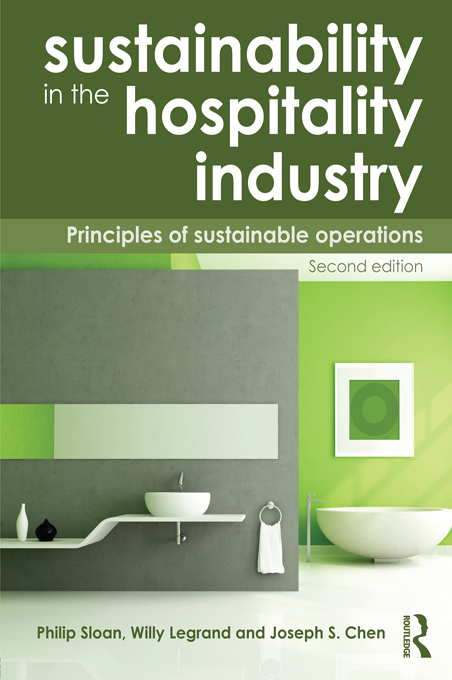Sustainability in the Hospitality Industry Principles of Sustainable Operations