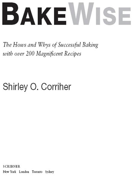 BakeWise By: Shirley O. Corriher