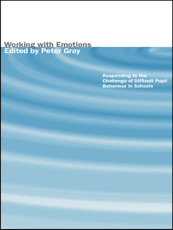 Working with Emotions By: