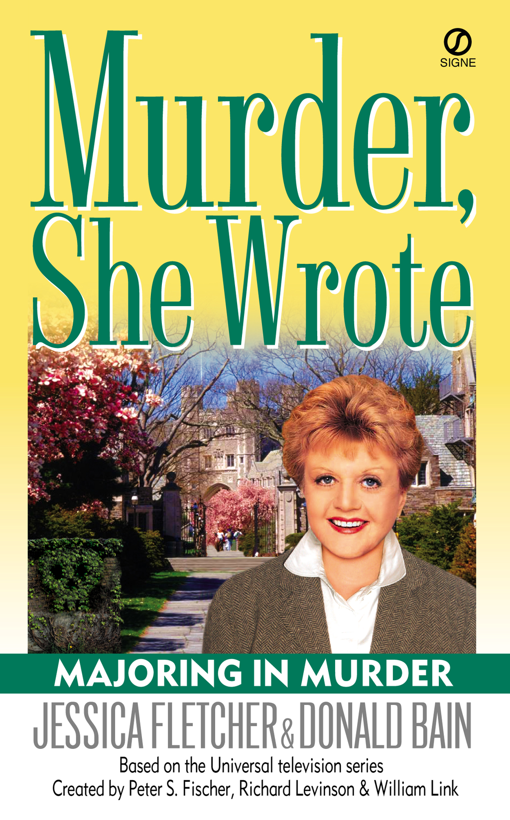 Murder, She Wrote: Majoring In Murder By: Donald Bain,Jessica Fletcher