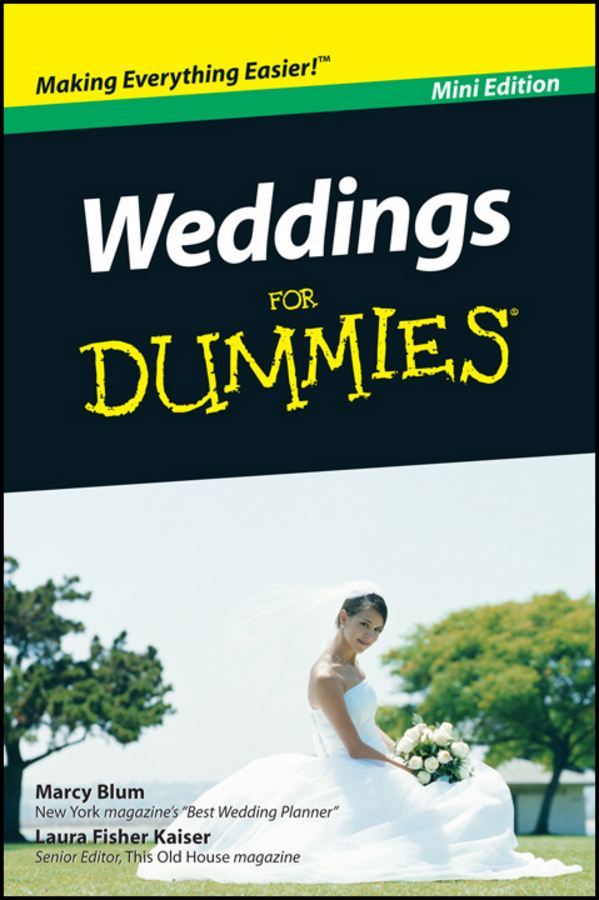 Weddings For Dummies®, Mini Edition