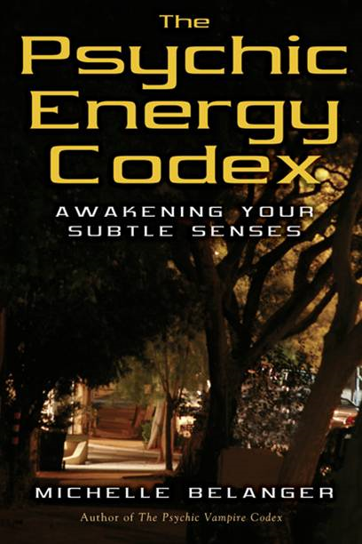The Psychic Energy Codex: Awakening Your Subtle Senses By: Michelle A. Belanger