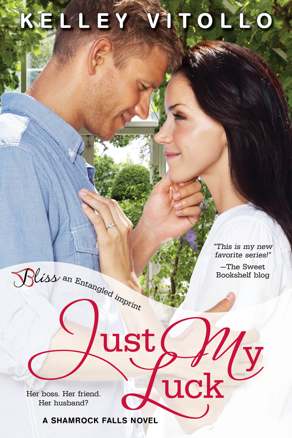 Just My Luck (A Shamrock Falls Novel)
