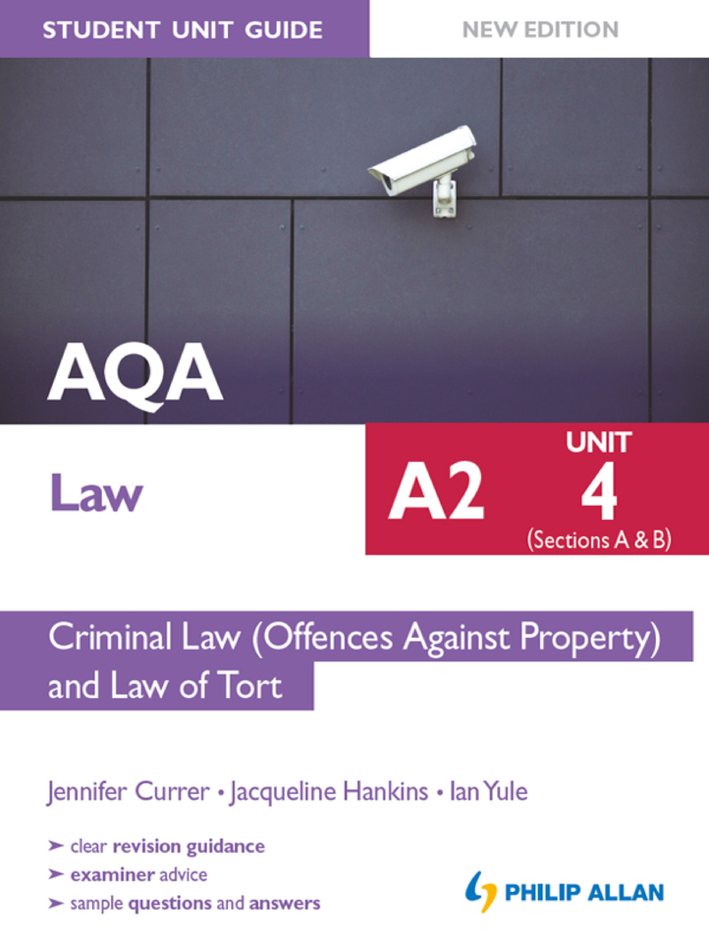 AQA Law A2 Student Unit Guide: Unit 4 (Sections A & B) Criminal Law (Offences Against Property) and Law of Tort New Edition eBook ePub          Criminal Law (Offences Against Property)