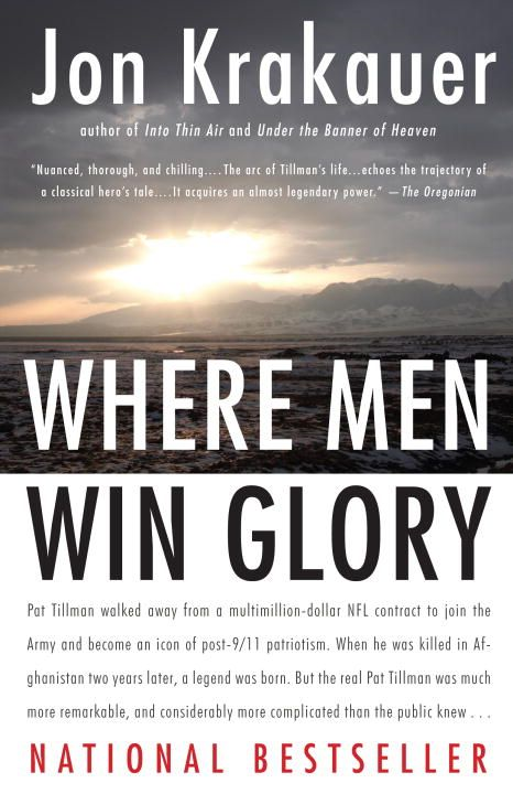 Where Men Win Glory By: Jon Krakauer