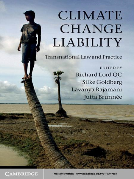 Climate Change Liability Transnational Law and Practice