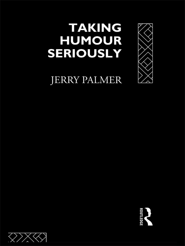 Taking Humour Seriously