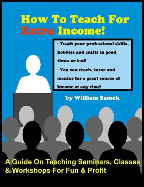How To Teach For Extra Income!