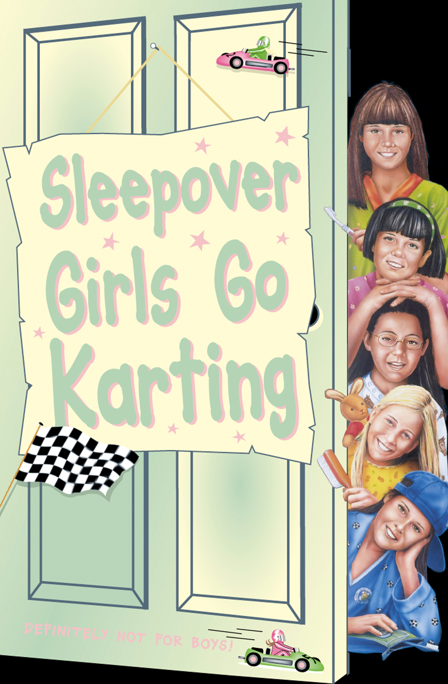 Sleepover Girls Go Karting (The Sleepover Club, Book 39)