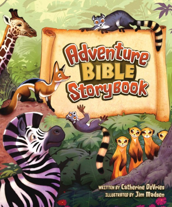 Adventure Bible Storybook By: Catherine   DeVries
