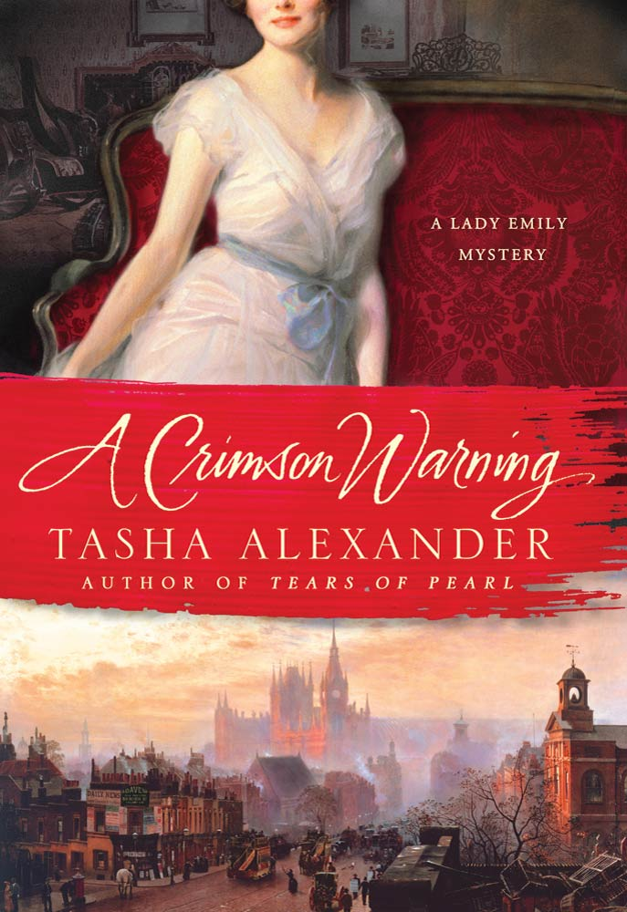 A Crimson Warning By: Tasha Alexander