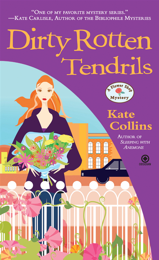 Dirty Rotten Tendrils: A Flower Shop Mystery