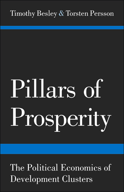 Pillars of Prosperity By: Timothy Besley,Torsten Persson