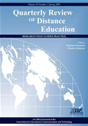 Quarterly Review Of Distance Education Vol. 10