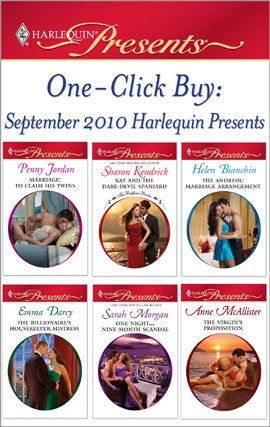 One-Click Buy: September 2010 Harlequin Presents By: Anne McAllister,Emma Darcy,Helen Bianchin,Penny Jordan,Sarah Morgan,Sharon Kendrick
