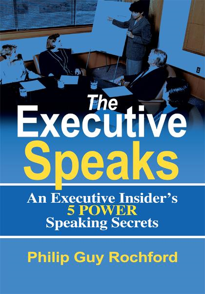The Executive Speaks By: Philip Rochford