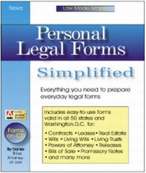Personal Legal Forms Simplified: Everyth