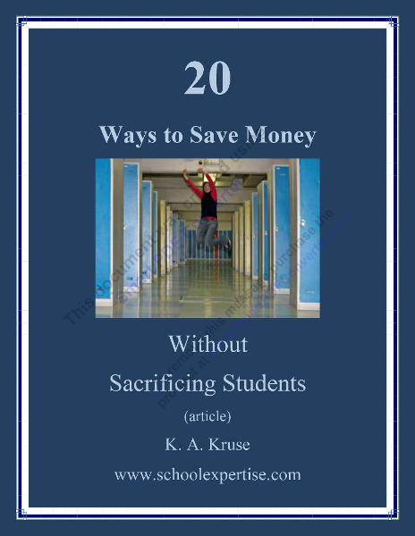 20 Ways to Save Money Without Sacrificing Students