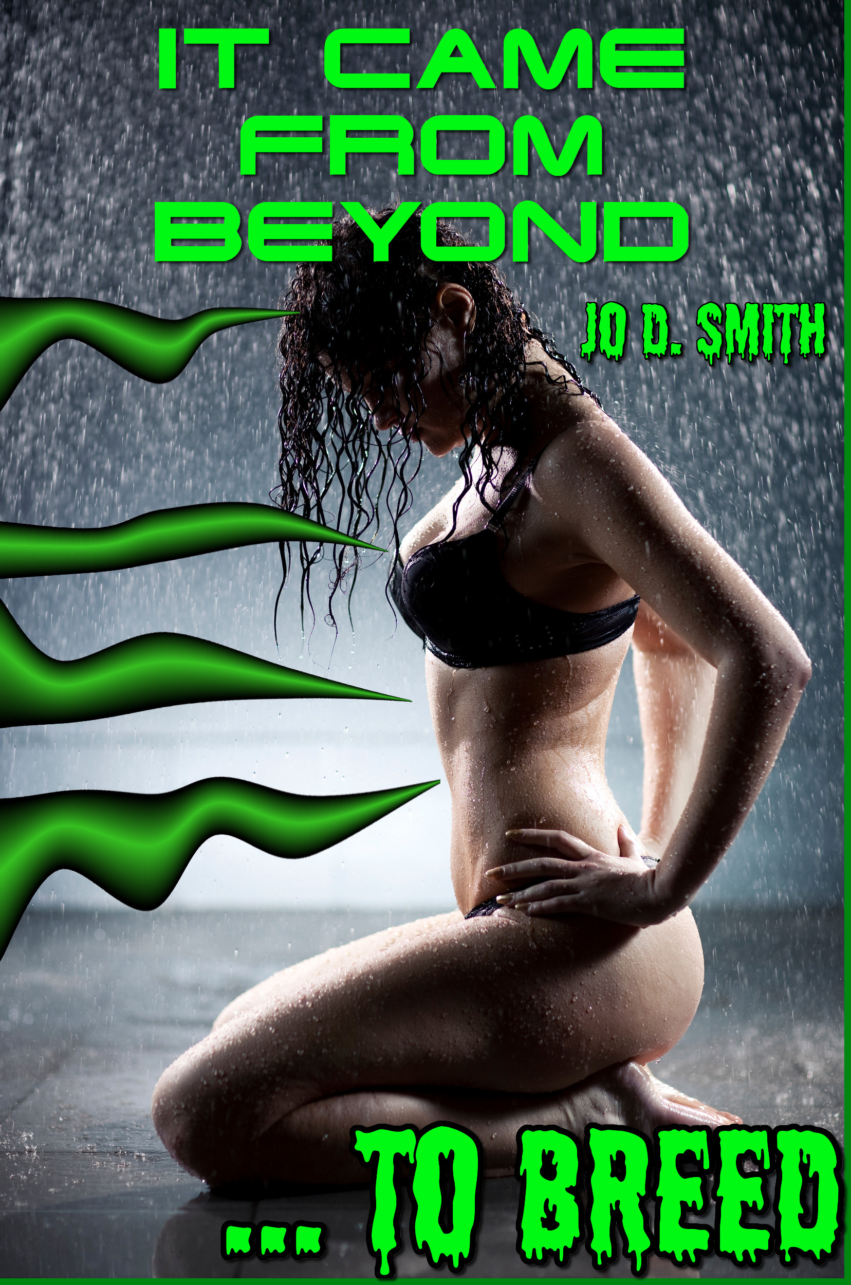 It Came From Beyond ... To Breed (Tentacle Impregnation Erotica)