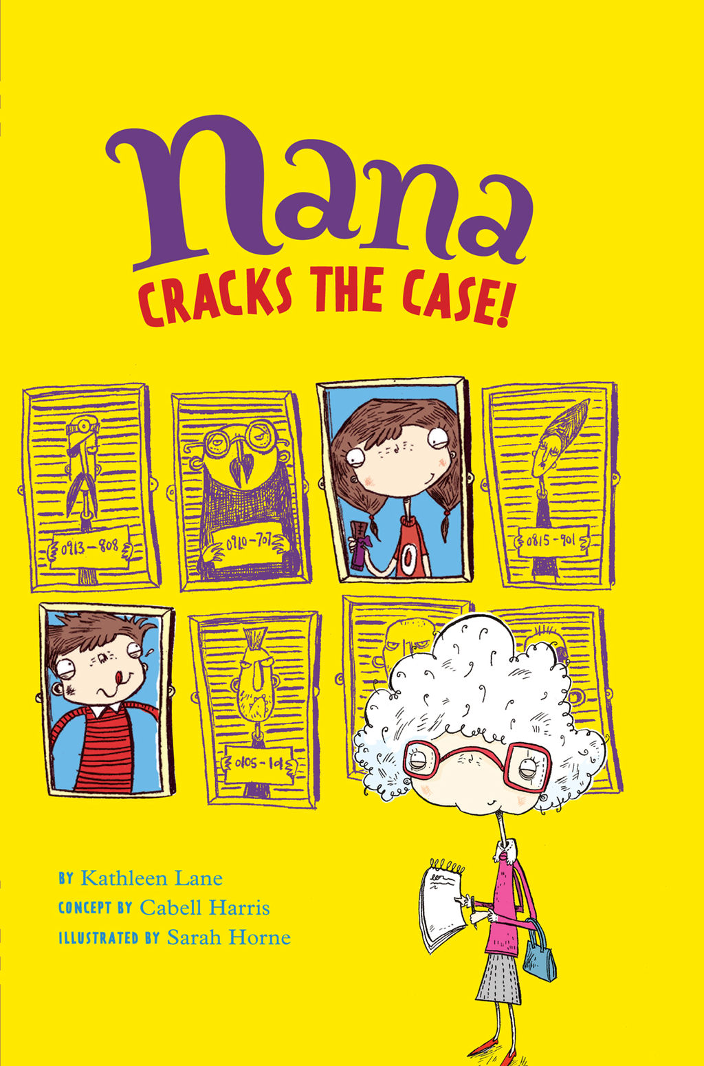 Nana Cracks the Case!: Book 1