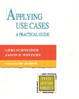 Applying Use Cases: A Practical Guide By: Geri Schneider,Jason P. Winters