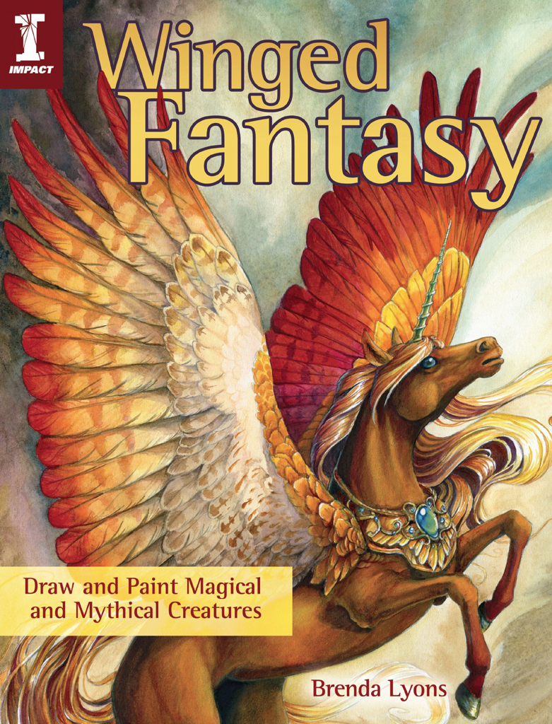 Winged Fantasy Draw and Paint Magical and Mythical Creatures