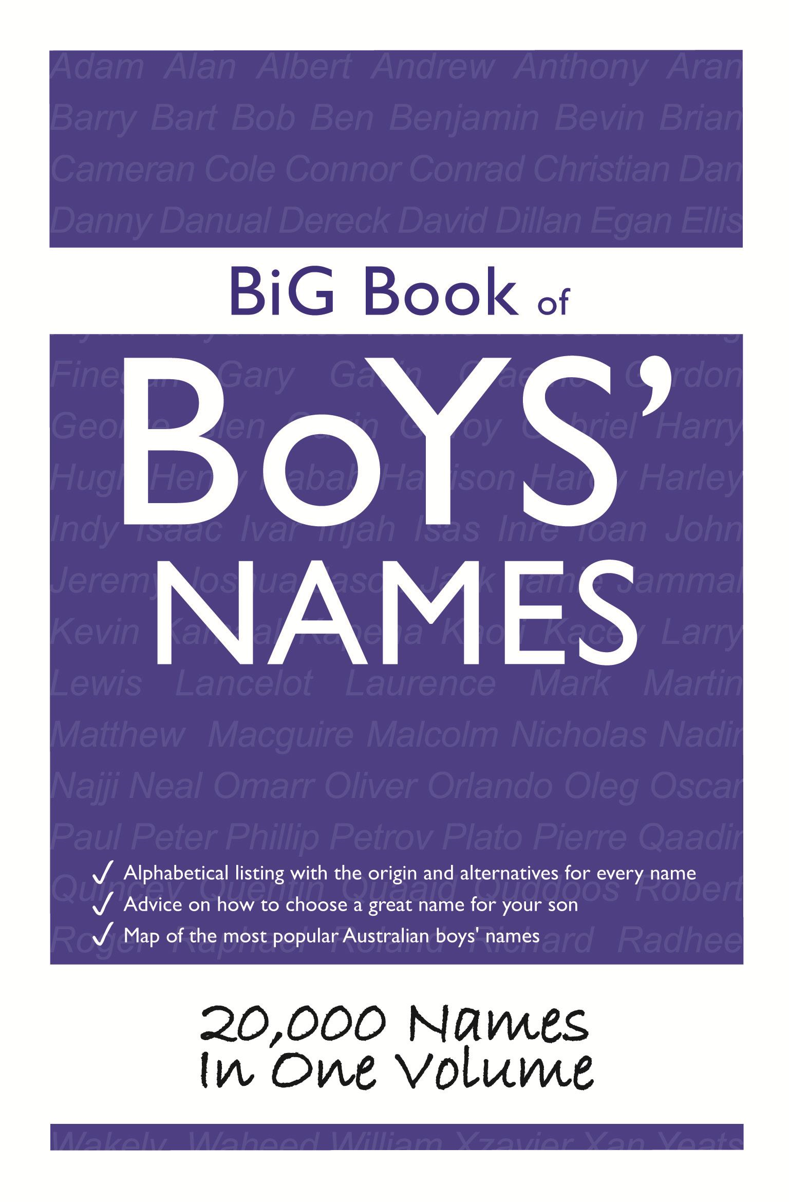 Big Book of Boys Names