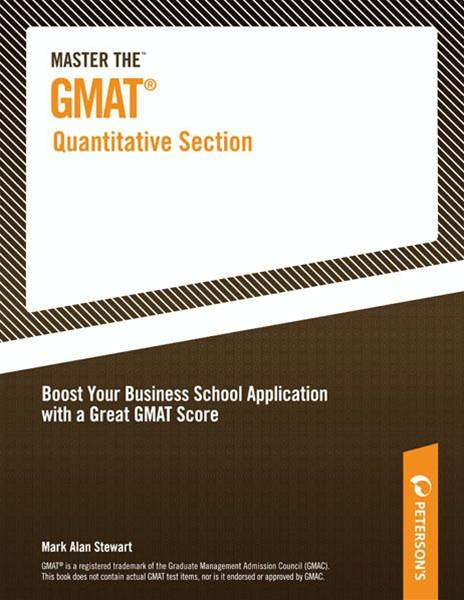 Master the GMAT--Quantitative Section