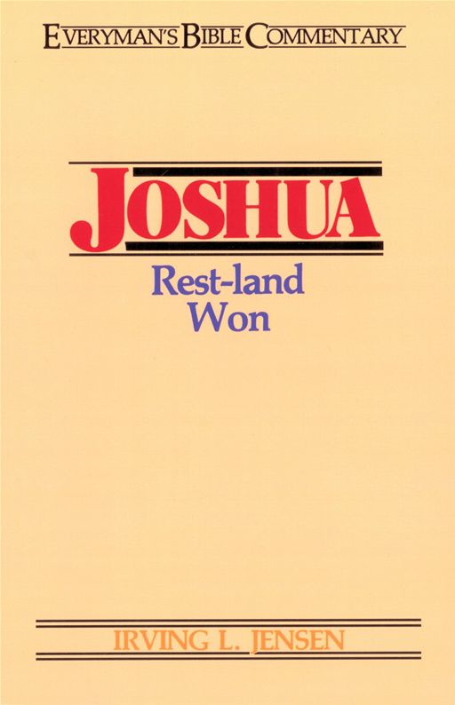 Joshua- Everyman's Bible Commentary