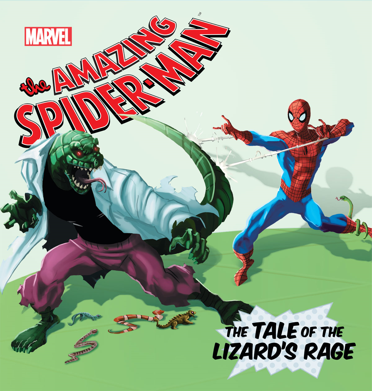 Amazing Spider-Man, The:  Lizard's Rage, The By: Disney Book Group