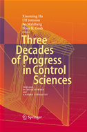 Three Decades Of Progress In Control Sciences