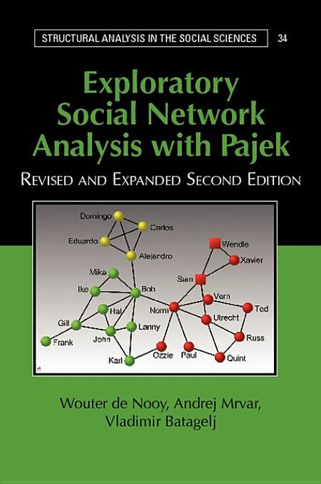 Exploratory Social Network Analysis with Pajek By: de Nooy, Wouter