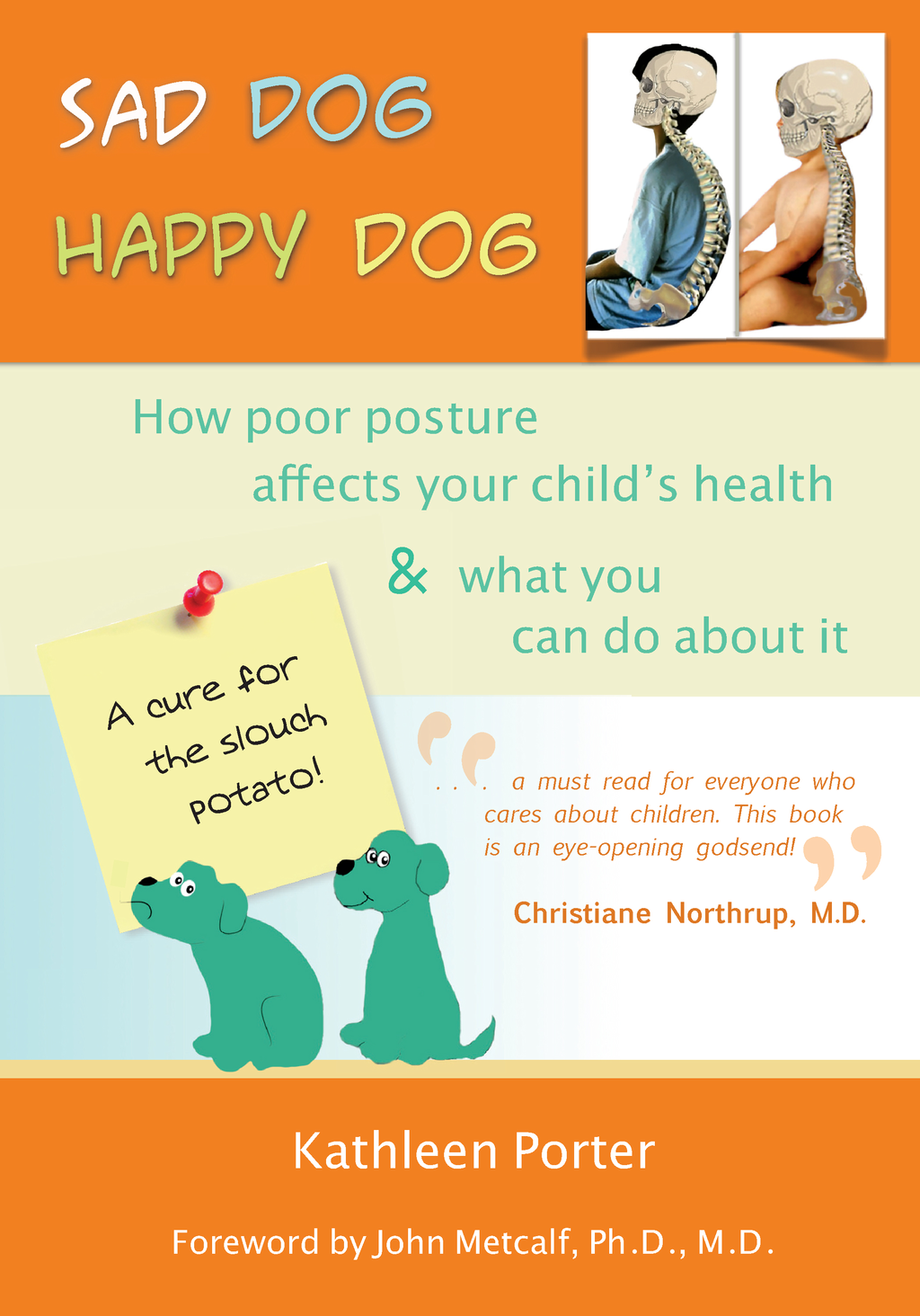 Sad Dog Happy Dog: How Poor Posture Affects Your Child's Health and What You Can Do About It