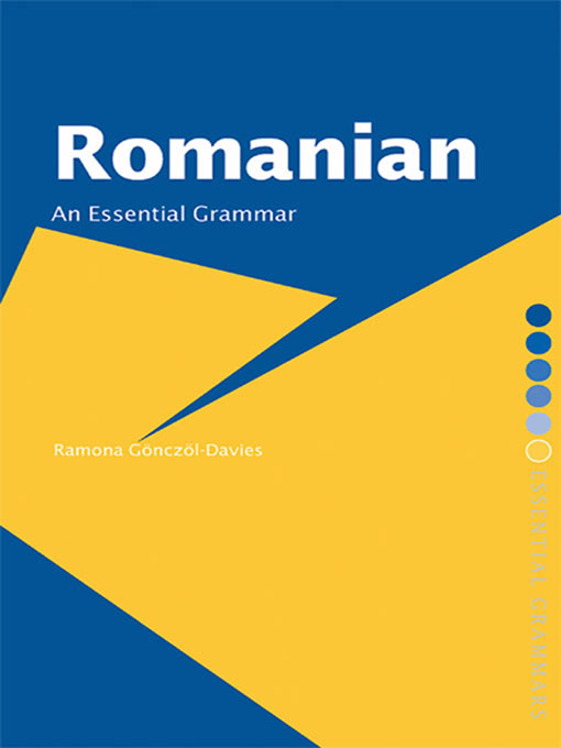 Romanian: An Essential Grammar