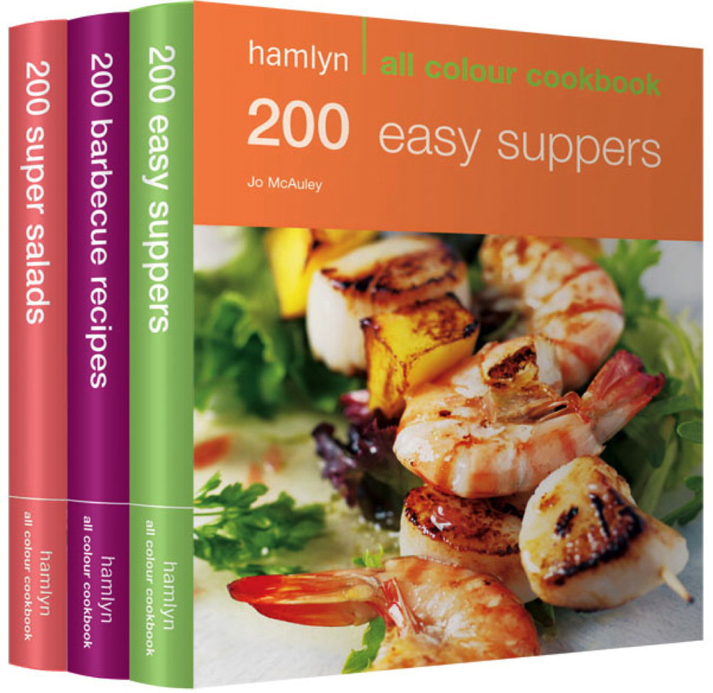 600 Easy Suppers, Salads & BBQ Recipes Hamlyn All Colour Cookery