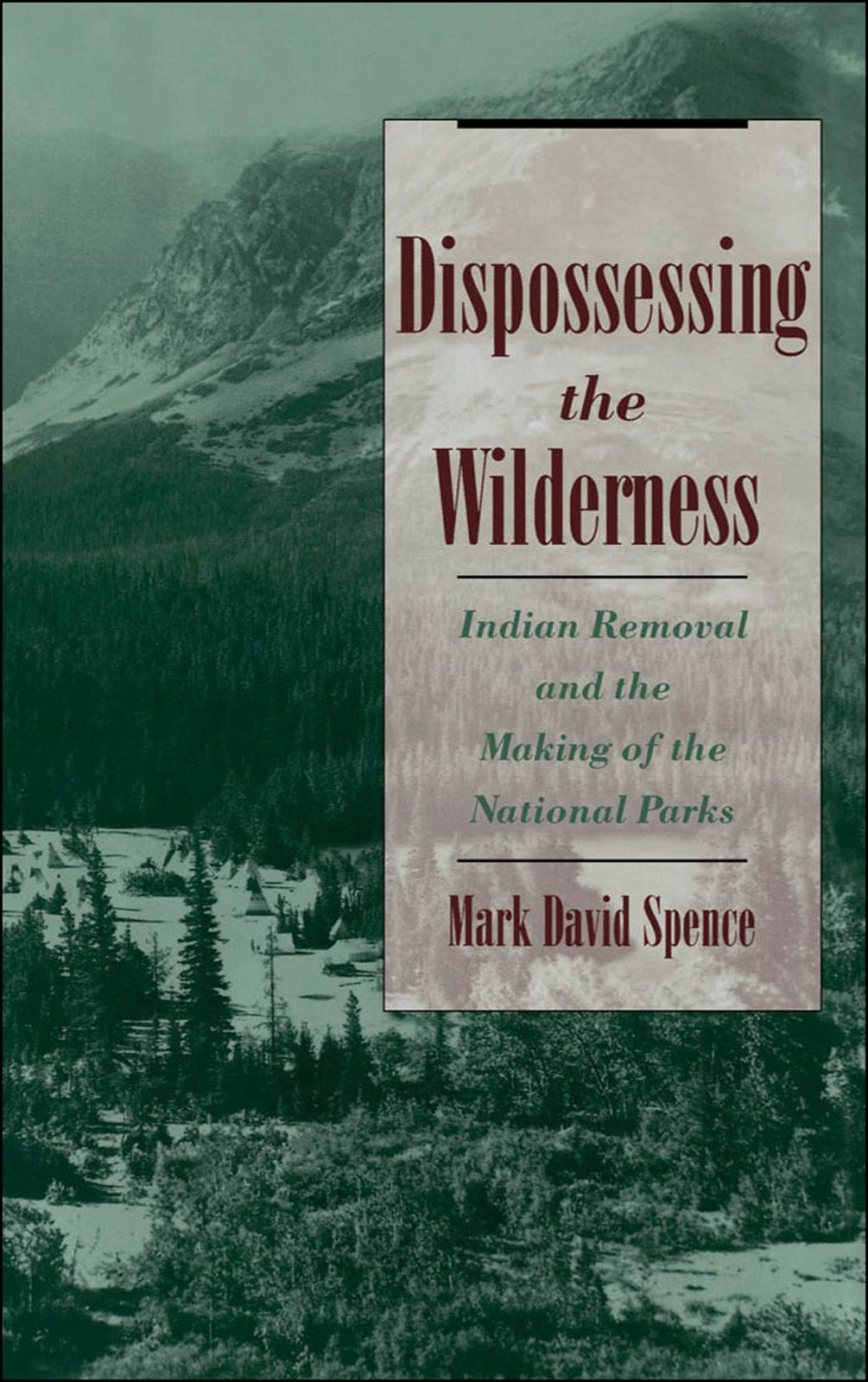 Dispossessing the Wilderness : Indian Removal and the Making of the National Parks