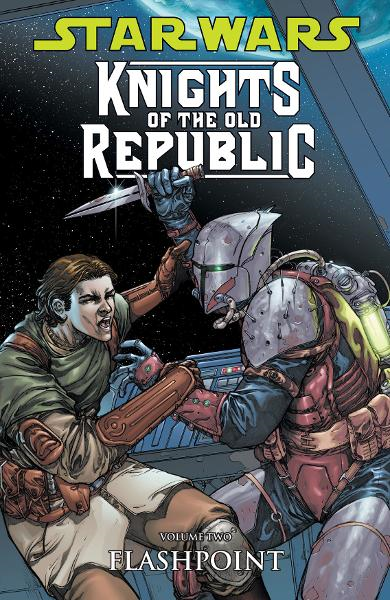 Star Wars: Knights of the Old Republic Vol. 2--Flashpoint  By: John Jackson Miller, Brian Ching (Artist), Dustin Weaver (Artist), Harvey Tolibao (Artist), Brian Ching (Cover Artist)