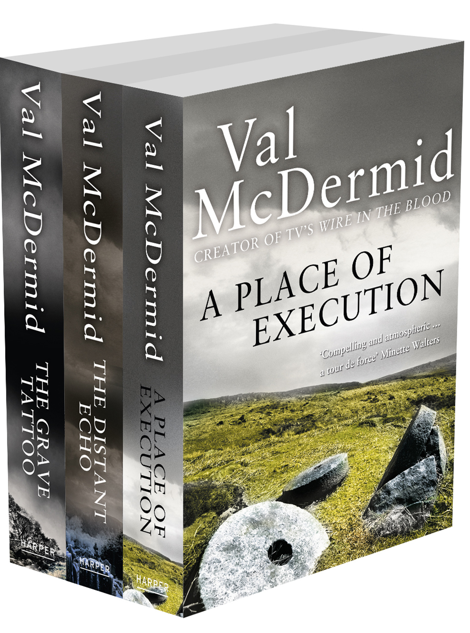 Val McDermid 3-Book Crime Collection: A Place of Execution, The Distant Echo, The Grave Tattoo