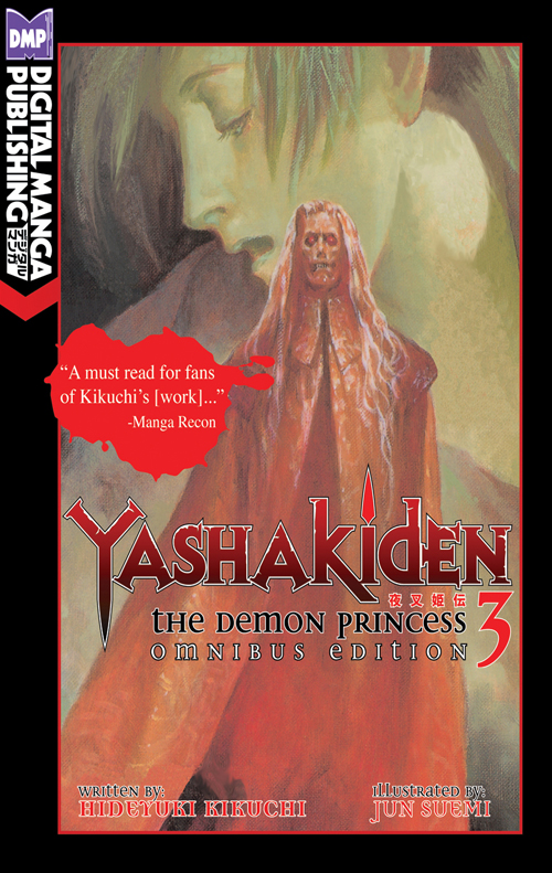 Yashakiden: The Demon Princess Vol. 3 Omnibus Edition