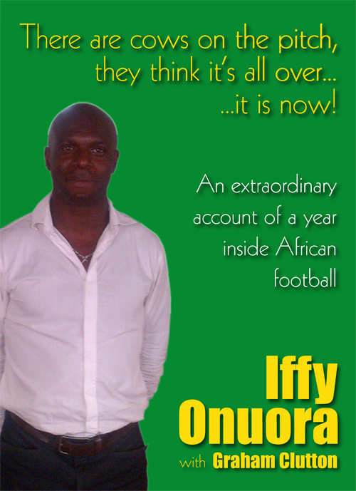 There are cows on the pitch, they think it's all over…it is now! By: Iffy Onuora; Graham Clutton