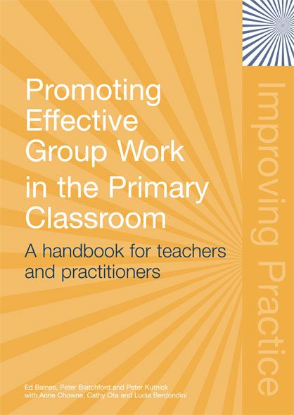 Promoting Effective Groupwork in Primary Classrooms