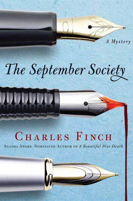 The September Society By: Charles Finch